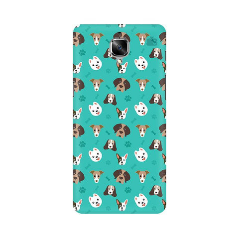 Doggie Pattern OnePlus 3 Phone Cover