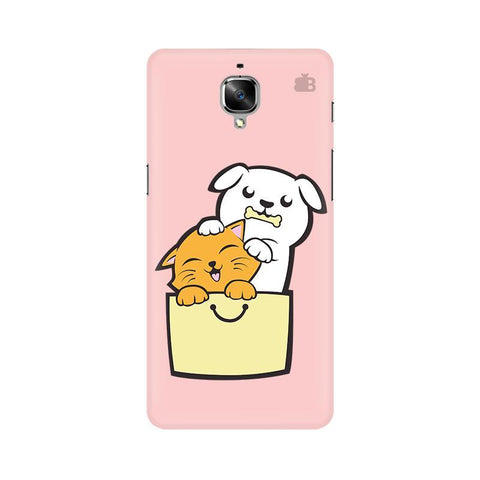 Kitty Puppy Buddies OnePlus 3 Phone Cover