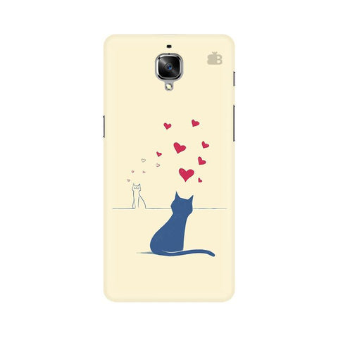 Kitty in Love OnePlus 3 Phone Cover