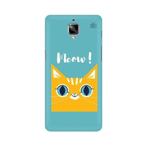 Meow OnePlus 3 Phone Cover
