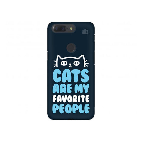 Cats favorite People OnePlus 5T Phone Cover