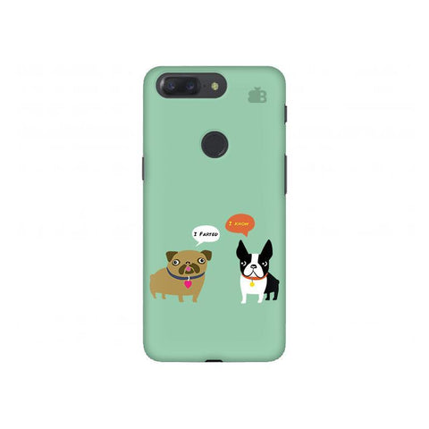Cute Dog Buddies OnePlus 5T Phone Cover