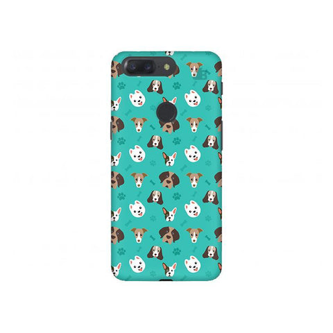 Doggie Pattern OnePlus 5T Phone Cover