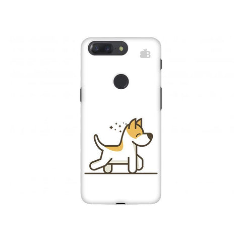 Happy Puppy OnePlus 5T Phone Cover