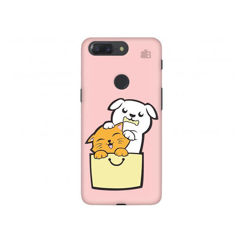 Kitty Puppy Buddies OnePlus 5T Phone Cover