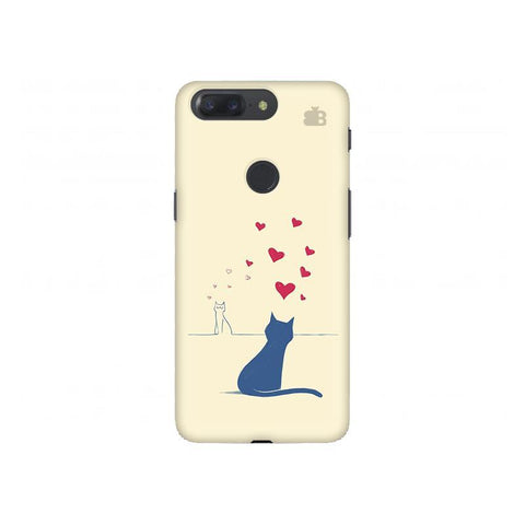 Kitty in Love OnePlus 5T Phone Cover