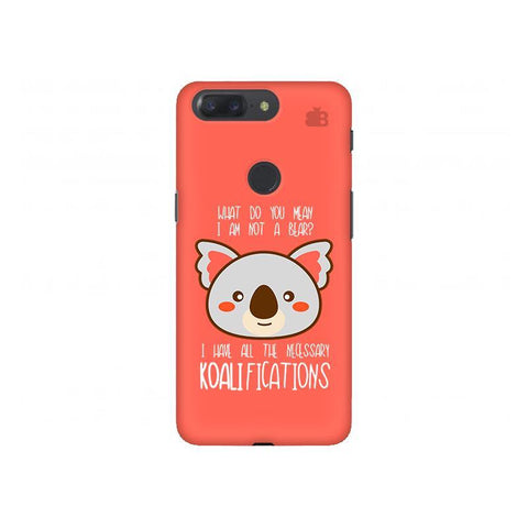 Koalifications OnePlus 5T Phone Cover