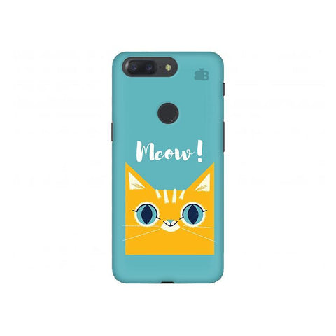 Meow OnePlus 5T Phone Cover
