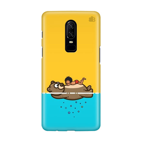 Baloo and Mowgli OnePlus 6 Phone Cover