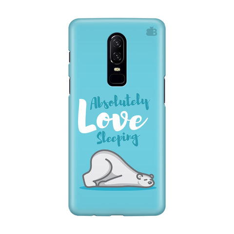 Love Sleeping OnePlus 6 Phone Cover