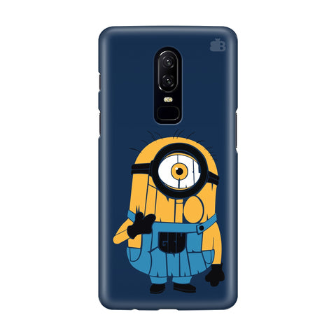 Minion Typography OnePlus 6 Phone Cover