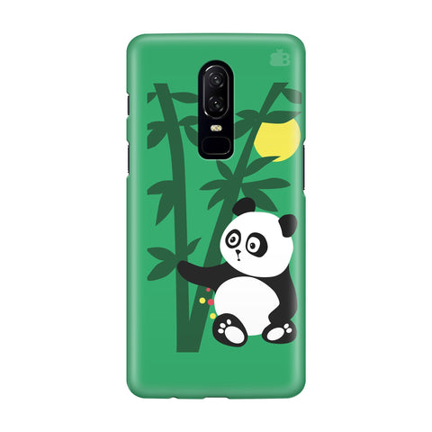 Panda in Woods OnePlus 6 Phone Cover