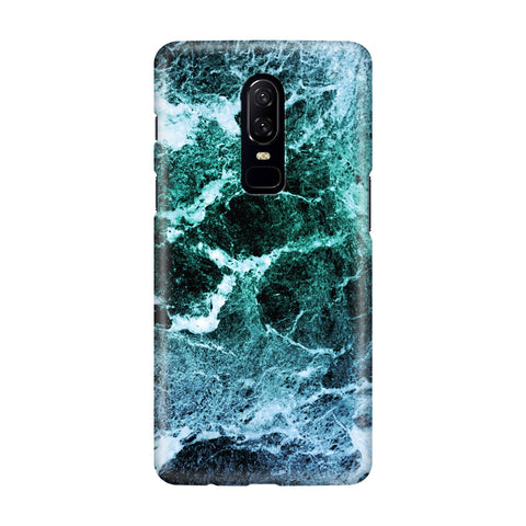 Sea Marble OnePlus 6 Phone Cover