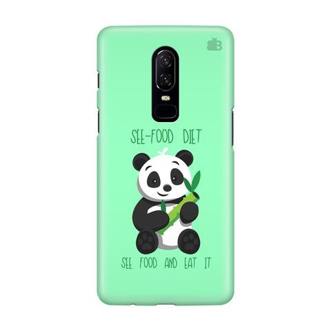 See-Food Diet OnePlus 6 Phone Cover