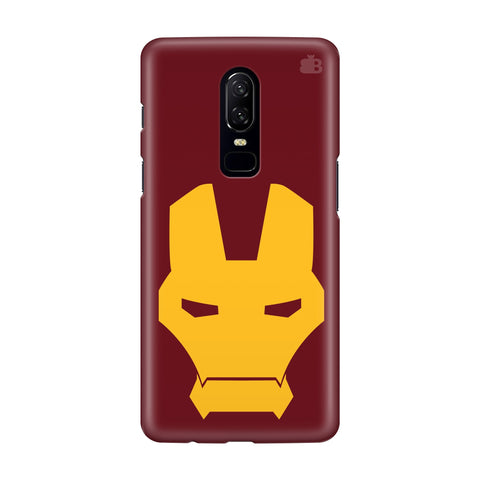 Superhero Mask OnePlus 6 Phone Cover
