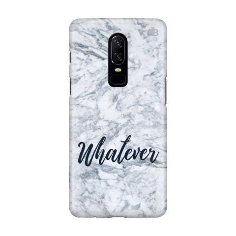 Whatever OnePlus 6 Phone Cover