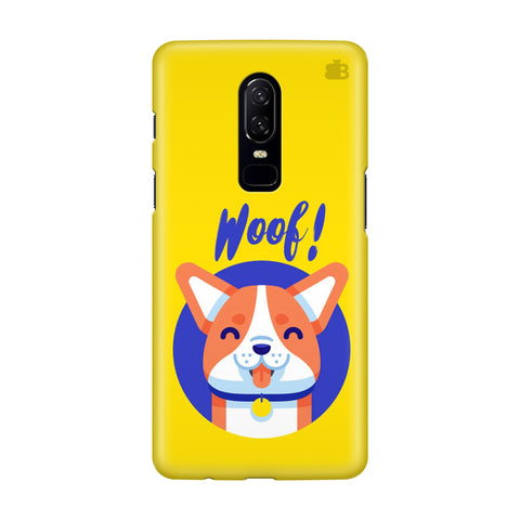Woof OnePlus 6 Phone Cover