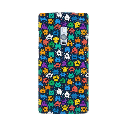 16 Bit Pattern OnePlus Two Phone Cover