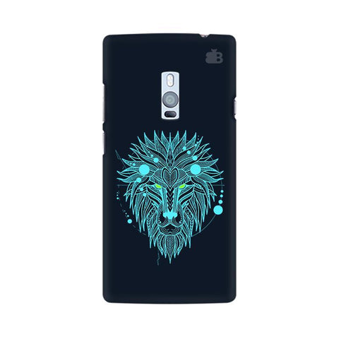 Abstract Art Lion OnePlus Two Phone Cover