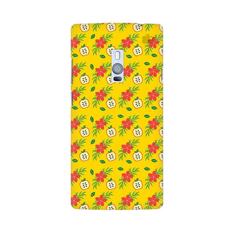Apples & Flowers OnePlus Two Phone Cover