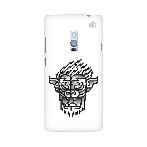 Arty Lion OnePlus Two Phone Cover