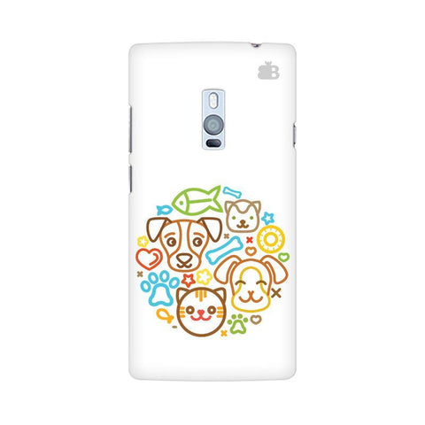 Cute Pets OnePlus Two Phone Cover