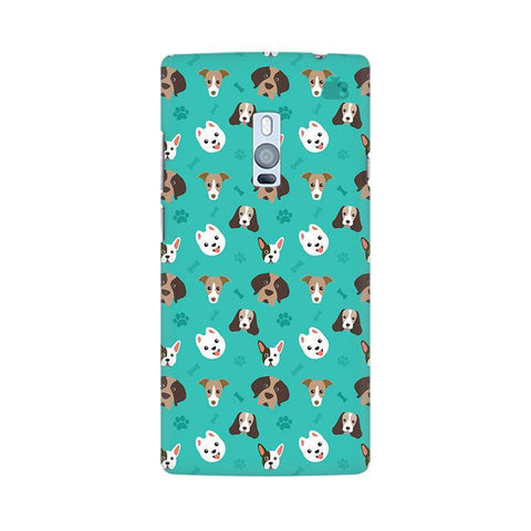 Doggie Pattern OnePlus Two Phone Cover