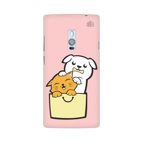 Kitty Puppy Buddies OnePlus Two Phone Cover