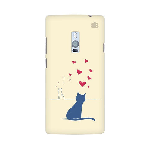 Kitty in Love OnePlus Two Phone Cover