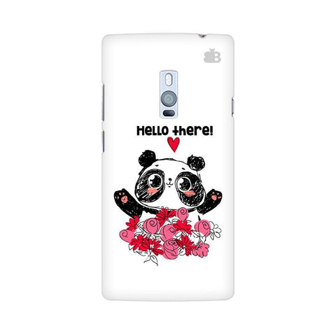 Panda Hello OnePlus Two Phone Cover