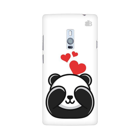 Panda In Love OnePlus Two Phone Cover