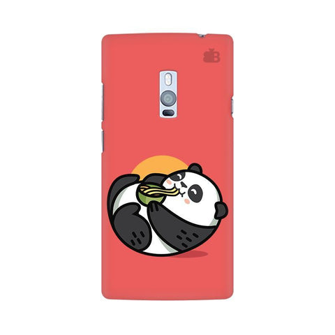 Panda eating Noodles OnePlus Two Phone Cover