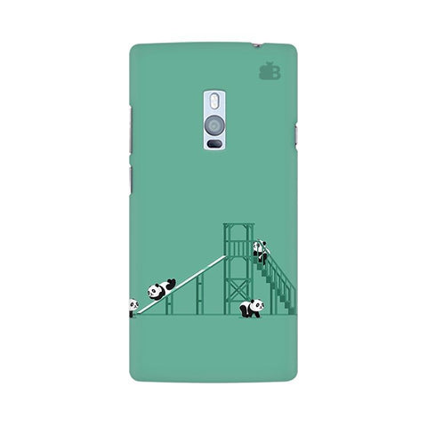 Pandas Playing OnePlus Two Phone Cover