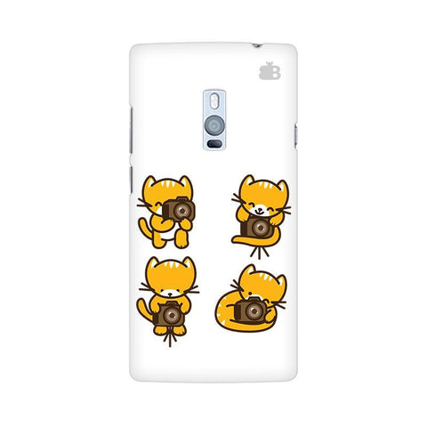 Photographer Kitty OnePlus Two Phone Cover
