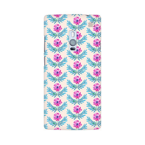 Pink Watercolor Pattern OnePlus Two Phone Cover