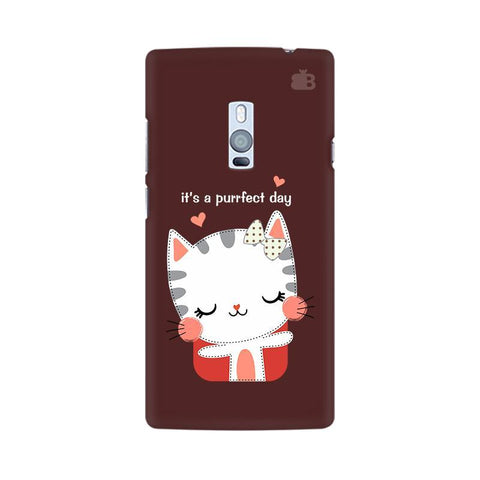 Purrfect Day OnePlus Two Phone Cover