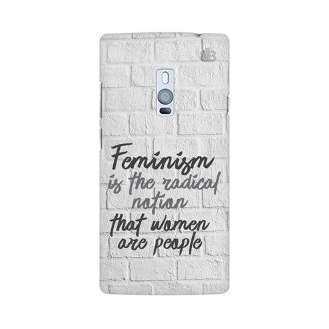 Radical Feminism OnePlus Two Phone Cover