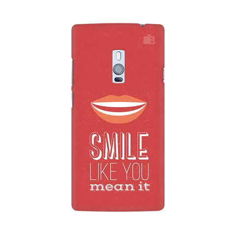 Smile OnePlus Two Phone Cover