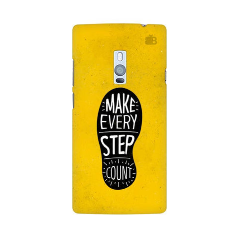 Step Count OnePlus Two Phone Cover