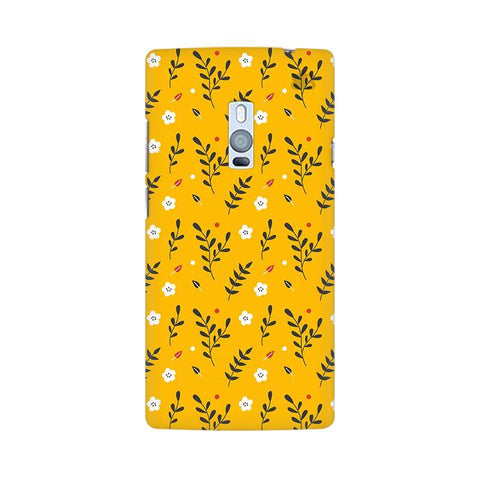 Summer Floral Pattern OnePlus Two Phone Cover