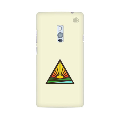 Triangular Sun OnePlus Two Phone Cover