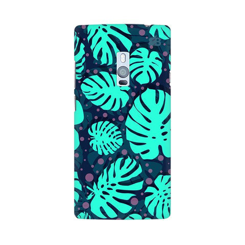Tropical Leaves Pattern OnePlus Two Phone Cover