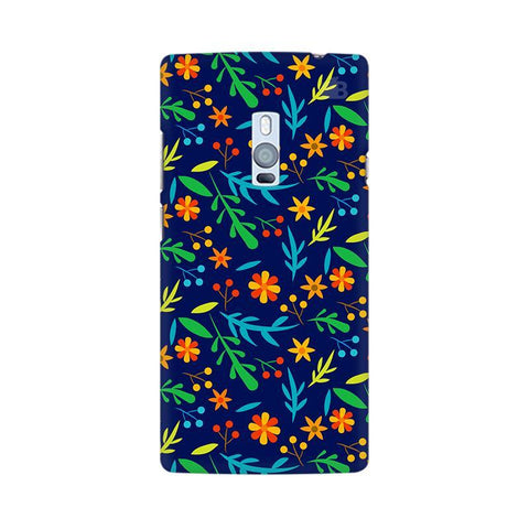 Vibrant Floral Pattern OnePlus Two Phone Cover