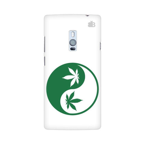 Weed Yin Yang OnePlus Two Phone Cover