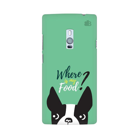 Where is my Food OnePlus Two Phone Cover