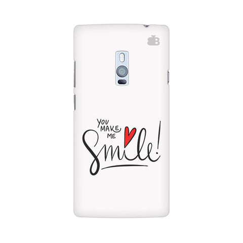 You make me Smile OnePlus Two Phone Cover