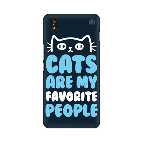 Cats favorite People OnePlus X Phone Cover
