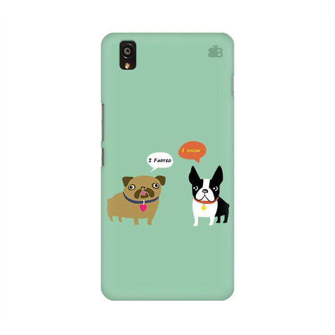 Cute Dog Buddies OnePlus X Phone Cover