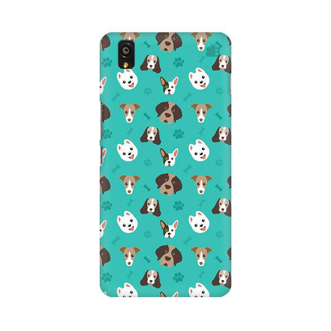 Doggie Pattern OnePlus X Phone Cover