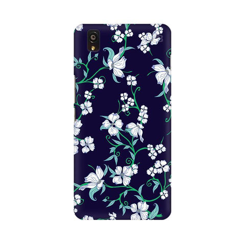 Dogwood Floral Pattern OnePlus X Phone Cover